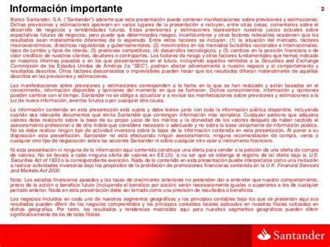 Resultados banco santander 2013