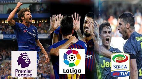 Resultados De Futbol Hoy   La Liga, Premier League y Serie ...