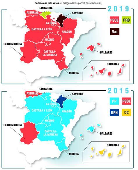 Resultados elecciones autonómicas 2019: así ha votado España