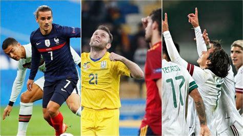 Resultados Fecha FIFA: Marcador y goles de los partidos de ...