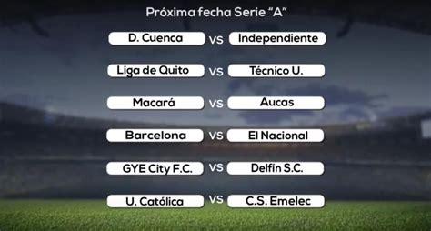 Resultados y próxima fecha del campeonato ecuatoriano de ...