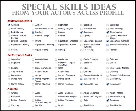 Resume, Acting and Resume examples on Pinterest