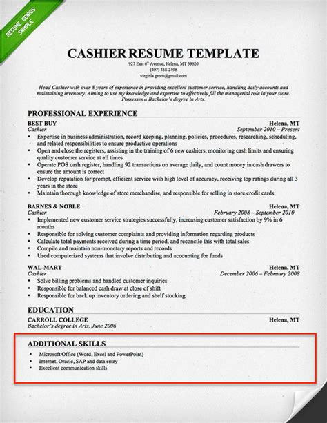 Resume Skills Section: 250+ Skills for Your Resume ...