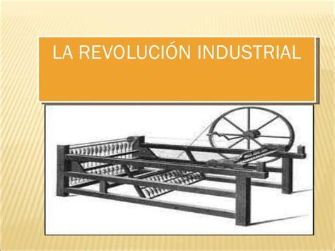 Resumen de la revolución industrial edelmira