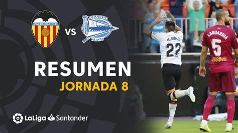 Resumen de Valencia CF vs Deportivo Alavés  2 1    YouTube