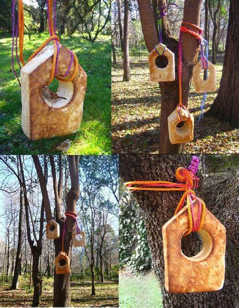 Retales de vida: Casas originales... para pájaros!