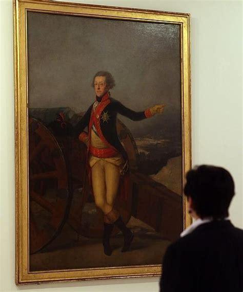 «Retrato del general Ricardos» de Goya se instala ...