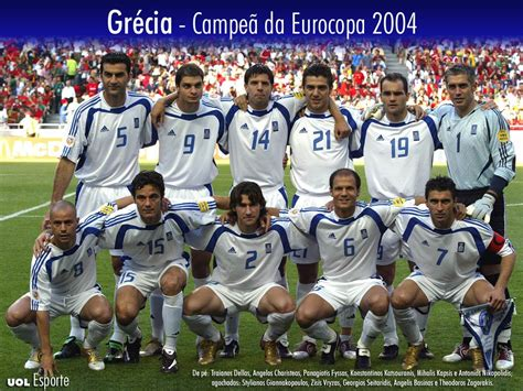 Retrato na Parede: Grécia, campeã da Euro 2004