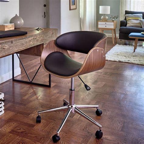Retro Office Desk Chair Adjustable Seat Vintage Guest ...