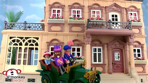 Retro Playmobil Victorian Mansion!   YouTube