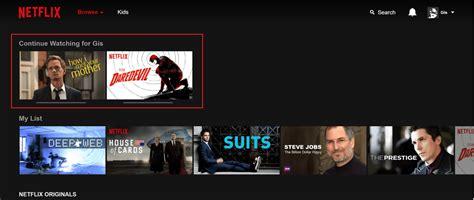 return GiS ; | Cómo eliminar series o películas de ...