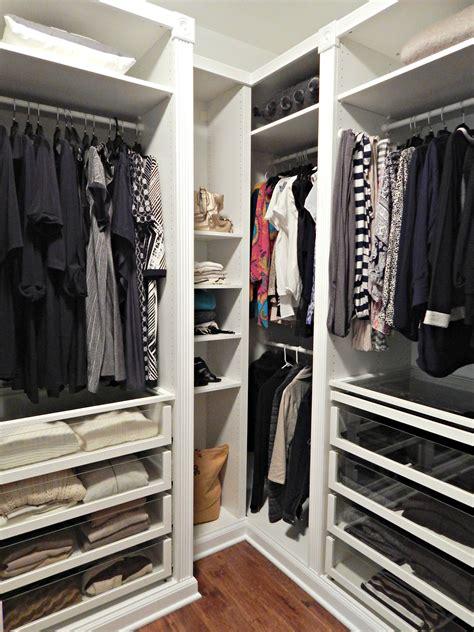 Revamping my Closet with the IKEA Pax Wardrobe   Stylish ...