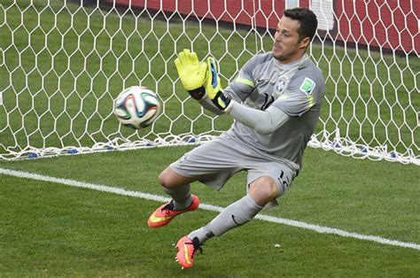 REVEALED: How Brazil keeper Julio Cesar wanted to join ...
