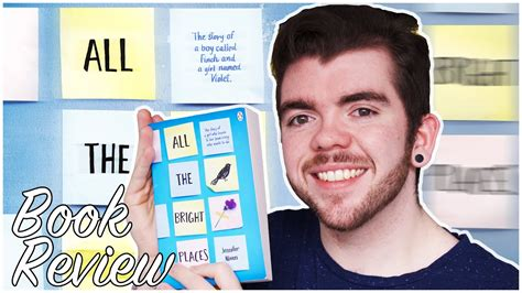 REVIEW    All The Bright Places  by Jennifer Niven ...