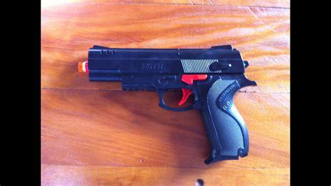 REVIEW   Teste de Tiro Pistol/Pistola Airsoft Nerf   YouTube