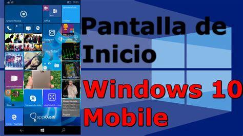 Revisado a Windows 10 Mobile Anniversary Update: Pantalla ...
