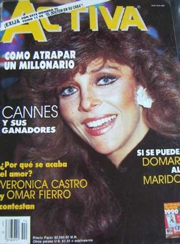 Revista Activa. Veronica Castro En Portada .tv.novelas   U ...