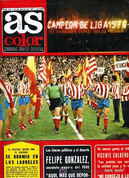 Revista futbol , as color, nº 314 atletico madr   Vendido ...