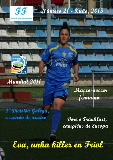Revista Fútbol Femenino Galego: Junio 2015   futbolbaseymas