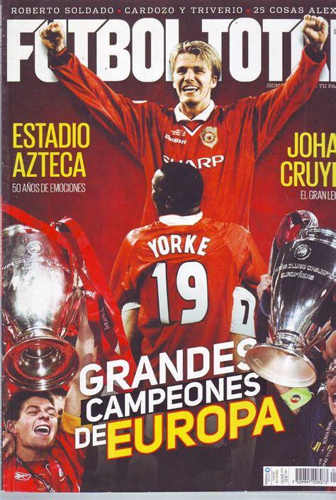 Revista Futbol Total Especial Grandes Campeones De Europa ...