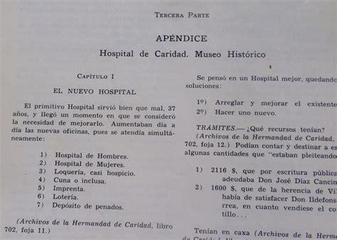 Revista Historia Hospital De Caridad Montevideo 1778 1825 ...