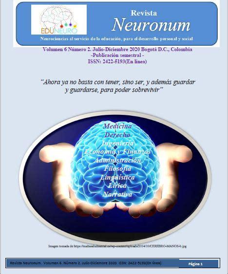 Revista Neuronum ISSN: 2422 5193  En línea