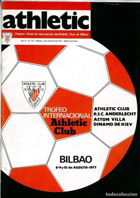 revista oficial athletic número 117 torneo inte   Comprar ...
