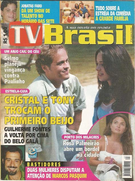 Revista Tv Brasil 63   Março 2001   Capa Estrela guia ...