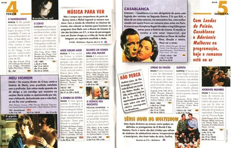 Revistas de Cinema: Guia TV por Assinatura  Março / 1997