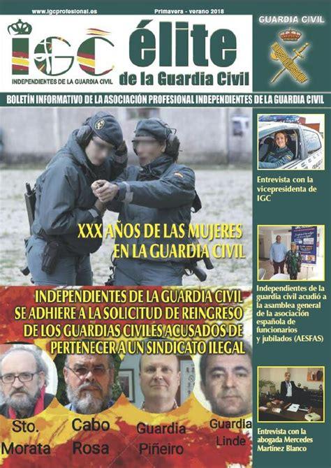 Revistas ÉLITE IGC   Independientes de la Guardia Civil