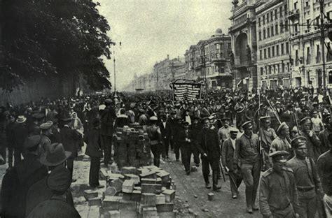 Revolución rusa 1905, Revolucion febrero y octubre 1917 ...
