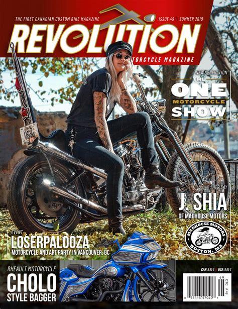 REVOLUTION MOTORCYCLE MAGAZINE   English   Issue 49 Summer ...