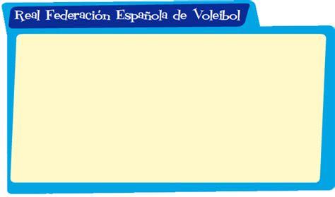RFEVB. Voleibol. PequeVoley.   RFEVB: Real Federación ...