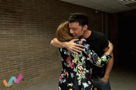 Ricky Martin a Toñi Moreno:  Con mis hijos soy como un León