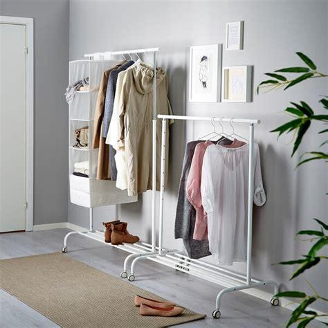 RIGGA Burro para ropa, blanco   IKEA