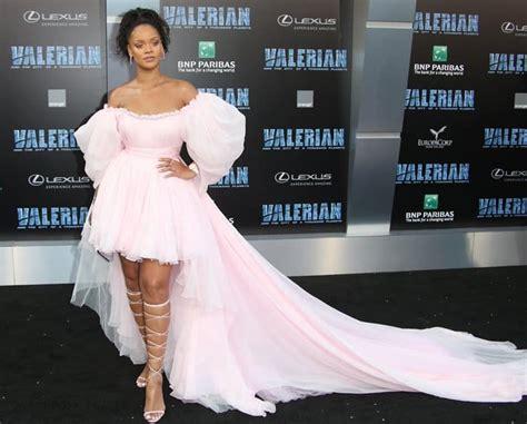 Rihanna and Skai Jackson Twin at  Valerian  Premiere in ...