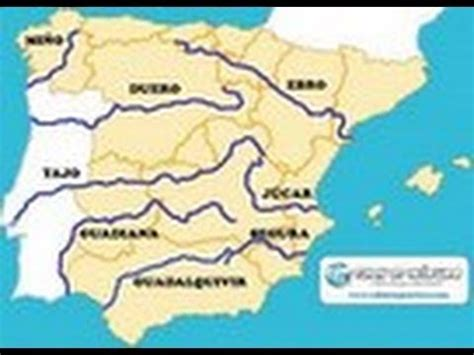 Rios de la Peninsula Iberica   YouTube