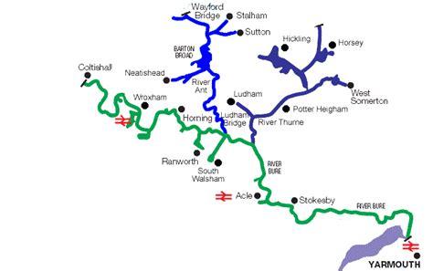 River Mileage Calculator Result | Broadland Norfolk Broads ...
