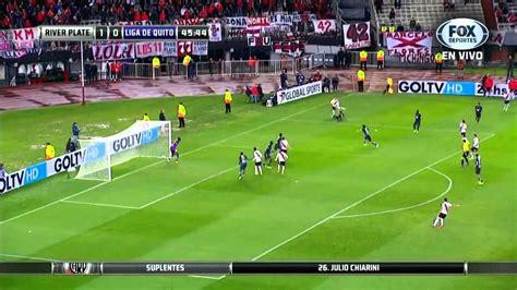 River Plate vs Liga de Quito Partido Completo Copa ...
