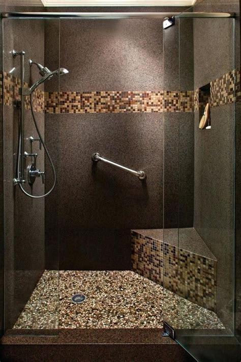 River Rock Bathroom Tile Home Design Ideas Bathroom Best ...