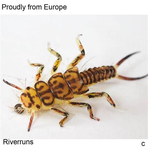 Riverruns Realistic Flies Stone Nymph Flies Colors Trout ...