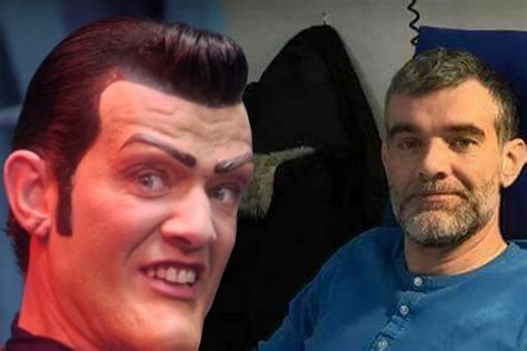 Robbie Rotten actor has good news after terminal diagnosis ...
