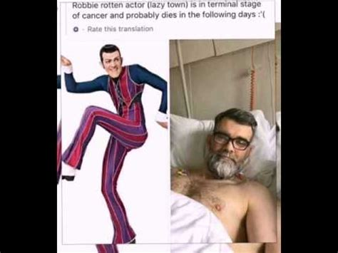 Robbie Rotten is dead?! !    YouTube