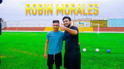 ROBIN MORALES / RETOS DE FUTBOL   YouTube