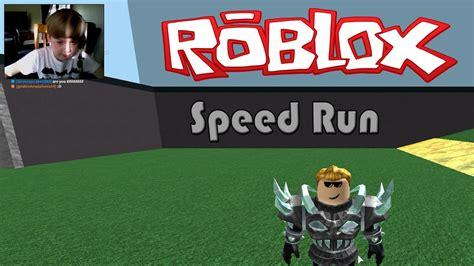 ROBLOX Speed Run   CAN I BEAT IT???   YouTube