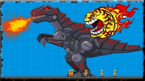 Robot Dinosaur on Miniplay.com