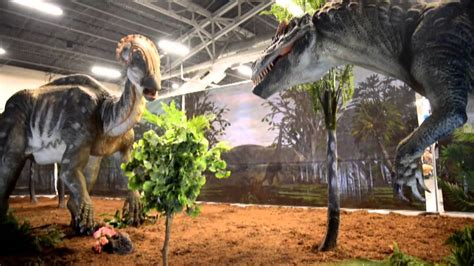 Robot Dinosaurs at Jurassic Quest   YouTube