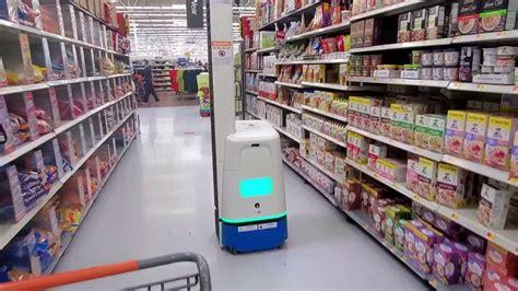 Robot inventory machine @Walmart supermarket.   YouTube