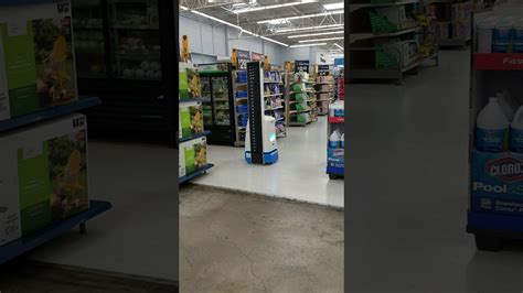 Robot Performing An Inventory At Walmart   YouTube