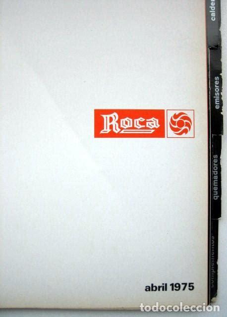roca. catálogo general aparatos de calefacción.   Comprar ...